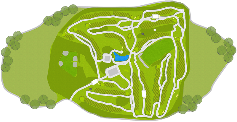 Golf Burnaby Mountain Hole Map