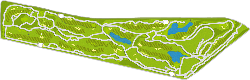 Golf Riverway Hole Map