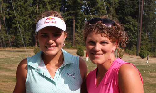 Jodie Reimer and Lexi Thompson